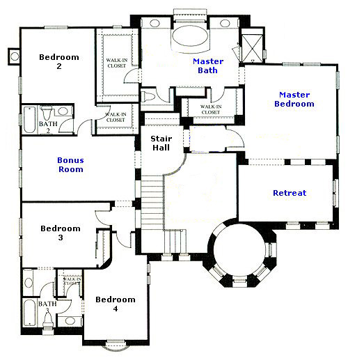 Westridge Emerald Residence 3 second floor floor plan