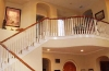 Beautiful staircase with upgraded bannister