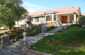 Home on Agua Dulce Canyon Rd
