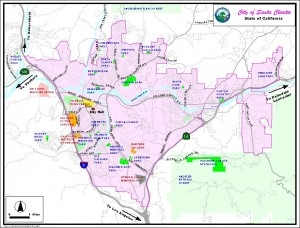 Santa Clarita Valley Map