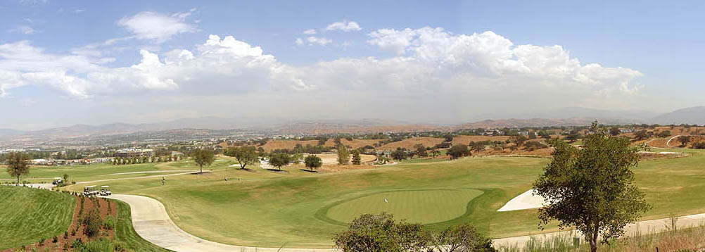 View of Santa Clarita Valley