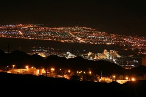 Santa Clarita at night