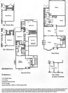 Bridgeport The Landing Residence 1 Floor Plan