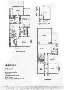 Bridgeport The Landing Residence 2 Floor Plan