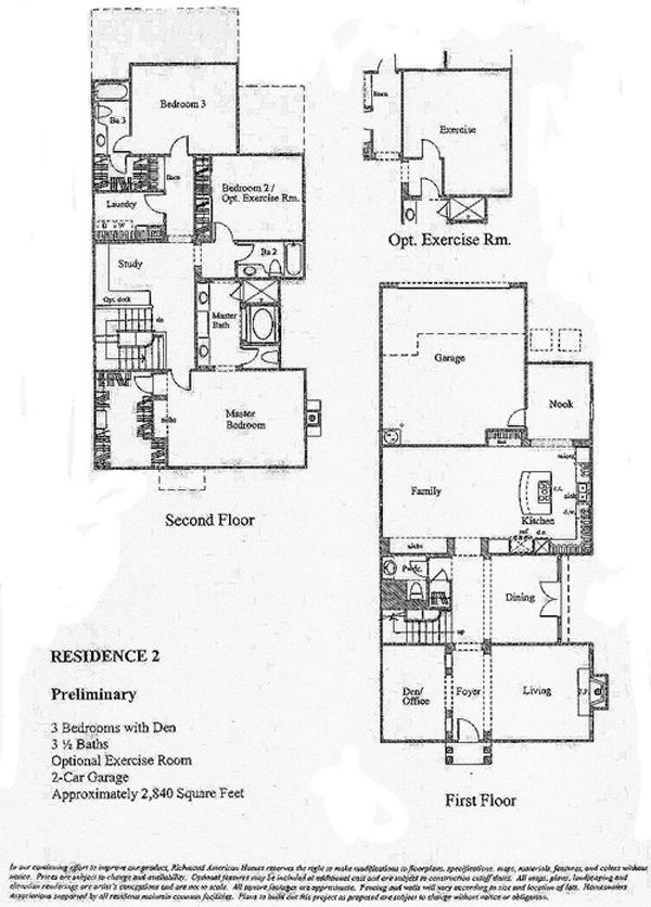 Bridgeport The Landing Residence 2 Floor Plan
