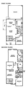 Windsor Collection tract in Vaencia Creekside - Residence 4 floor plan