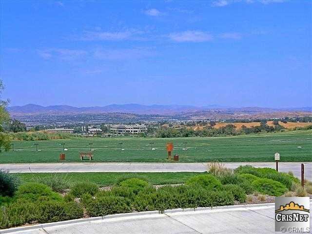 Valencia Westridge Estates golf course view