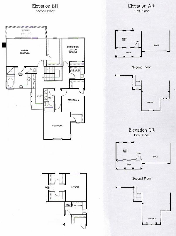 Valencia Bridgeport The Island Residence 1 second floor floor plan