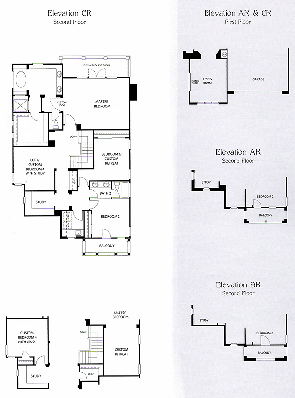 Valencia Bridgeport The Island Residence 2 second floor floor plan