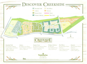 Creekside Valencia Ca map
