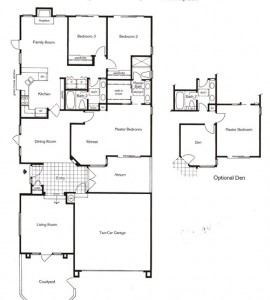 Valencia Summit San Marino Plan 73 floor plan