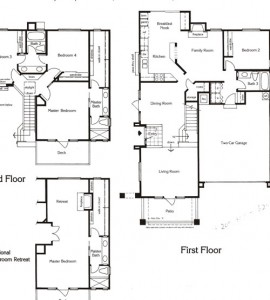Valencia Summit San Marino Plan74 floor plan