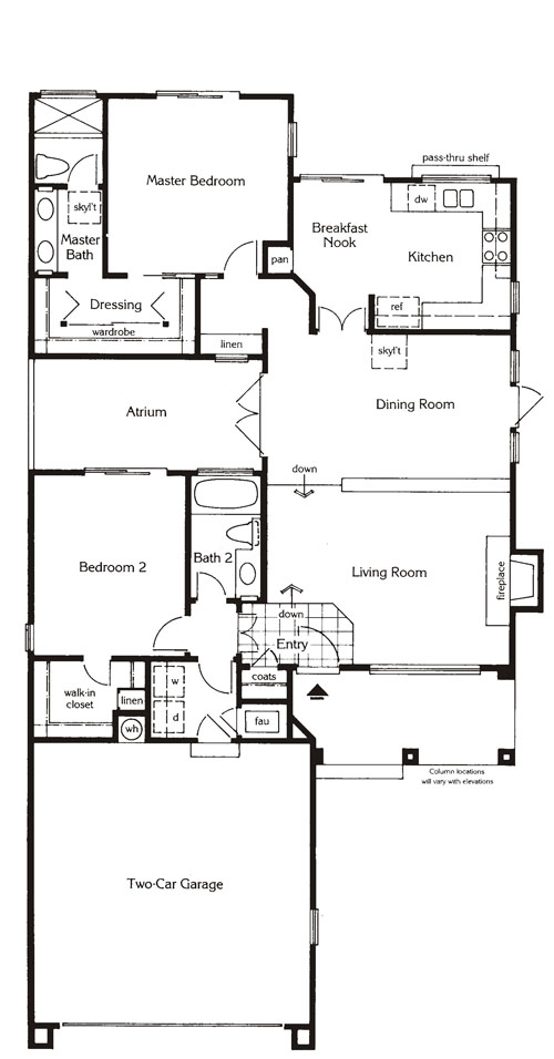 Valencia Summit San MarinoTract Plan71 floor plan
