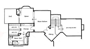 Valencia Summit Windemere Plan 91 second floor floor plan