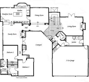 Valencia Summit Windemere Plan 91 first floor floor plan