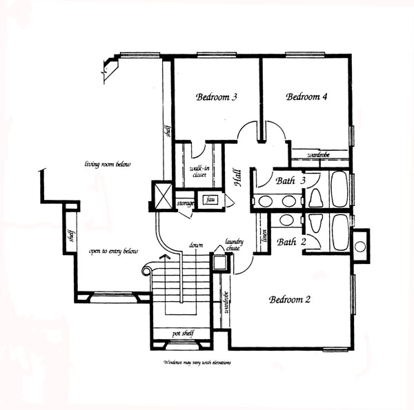 Valencia Summit Windemere Plan 93 second floor floor plan