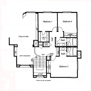 Valencia Summit Windemere Plan 92 second floor floor plan