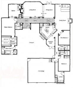 Valencia Summit Windemere Plan 92 Single Story Floor Plan