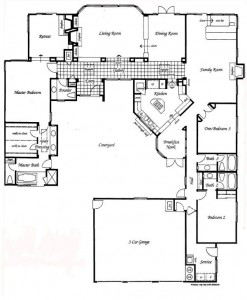 Valencia Summit Windemere Plan 92 Single Story floor plan