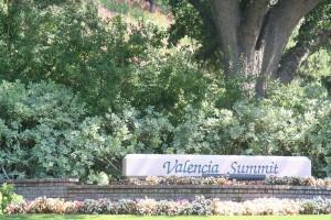 Valencia Summit sign