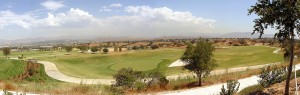 Westridge Valencia View of Santa Clarita and golf course