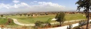 Westridge Valencia View of Santa Clarita and golf course