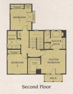 Valencia Woodlands Carmelita Plan 1 second floor floor plan