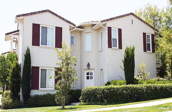 Valencia Woodlands Carmelita Tract home Plan 3 Exterior