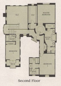 Valencia Woodlands Garland Plan 1 second floor floor plan