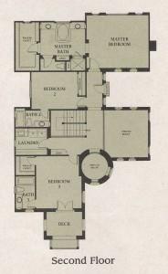 Valencia Woodlands Garland Plan 3 second floor floor plan