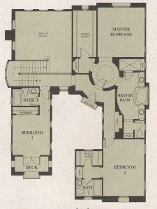 Valencia Woodlands Plan 1 second floor floor plan