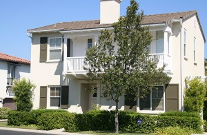 Valencia Woodlands Tract Valencia Carmelita home  Plan 1 Exterior