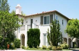 Valencia Woodlands Valencia Carmelita Tract home  Plan 4 Exterior