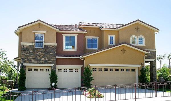 Valencia Westridge Bella Ventana Tract Residence 3 Exterior