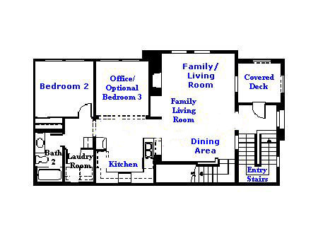 Valencia Westridge Cypress Pointe Tract Floor Plan second floor