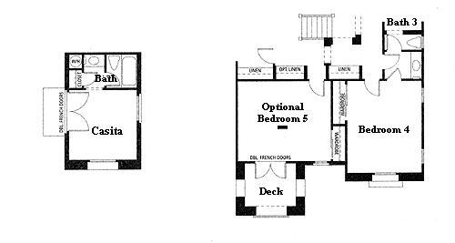 Valencia Westridge Masters Tract Residence 2 second floor floor plan