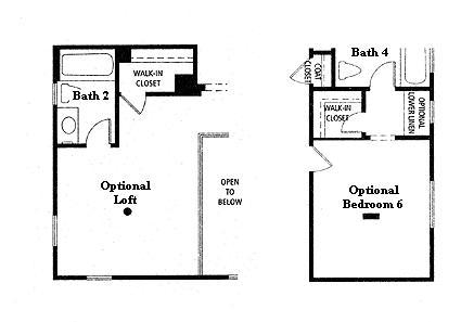 Valencia Westridge Oakmont Residence 3 Floor Plan Options