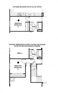Valencia Westridge Montanya Tract Residence 3 Floor Plan Options