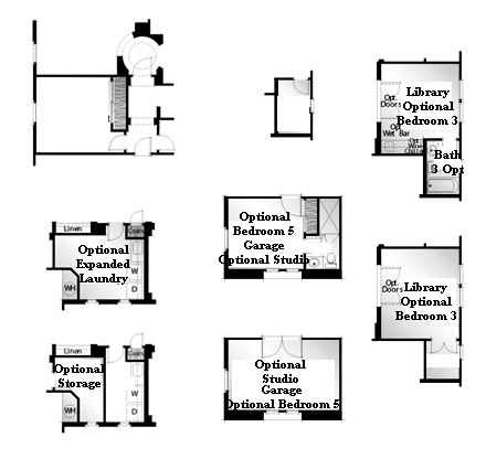 Valencia Westridge Oakmont Residence 1 Floor Plan Options