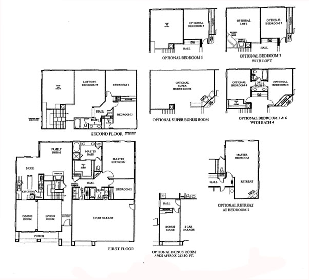 Acton Star Point Ranch Residence 4 floor plan