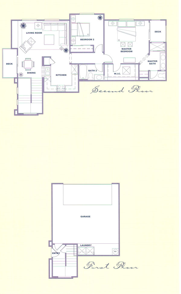 Canyon Country Solstice Tract Homes Plan 5 Floor Plan