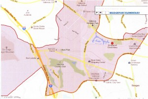 Bridgeport Elementary Boundaries 1