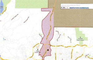 North Park Elementary School Boundary map 1