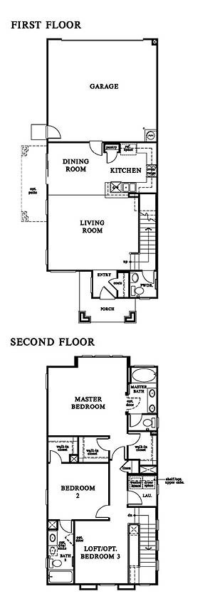 Floor plan for Windsor Collection Plan 1